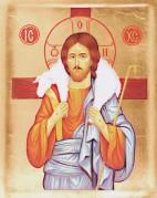 Christ and sheep